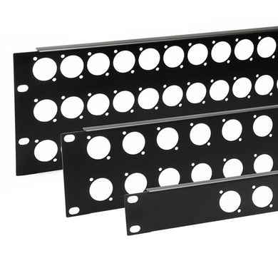 D Series Punched Rack Panel R1269/1UK/12