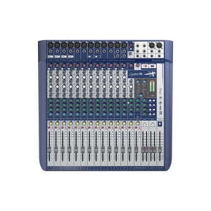 SOUNDCRAFT SIGNATURE16 10 MONO 2 STEREO 1 USB ANALOG CONSOLE