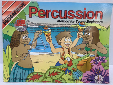 Progressive - Percussion method for young beginners