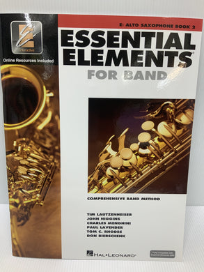 Essential Elements - For Alto Saxophone - Book 2