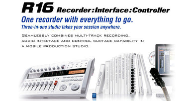 Zoom R16 Recorder:Interface:Controller