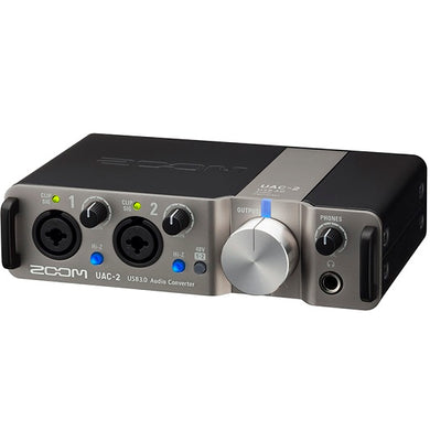 Zoom UAC-2 USB 3.0 Audio Converter 2 Channel Recording Interface