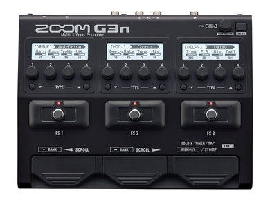 Zoom G3n Multi-Effects Processor Guitar Effects Pedal