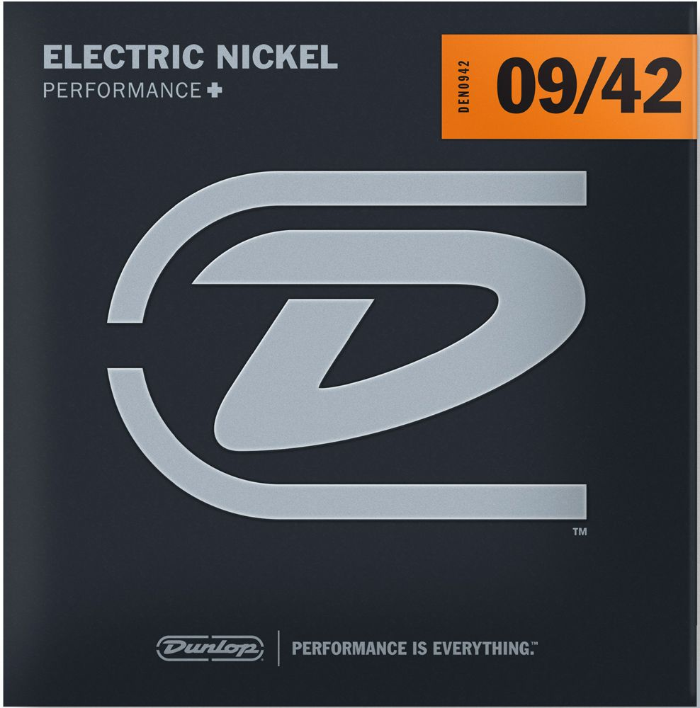 Dunlop Nickel Wound Electric Guitar Strings DEN0942 Light 9-42
