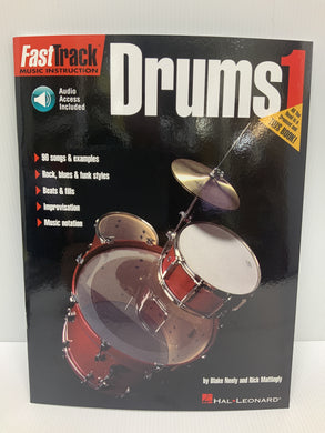 Fast Track Music instruction - Drums Book 1