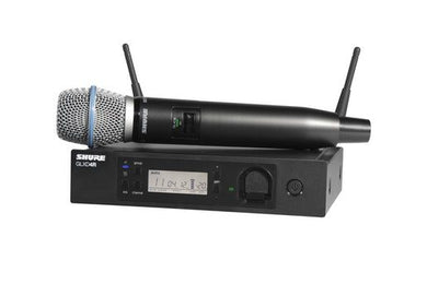 Shure QLXD24-B87A Handheld Wireless System with Beta 87A Microphone