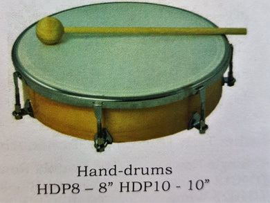 Hand drum with beater