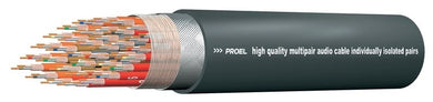 Proel Bulk Signal Multicore Cable 40 Way 97% Spiral+PVC