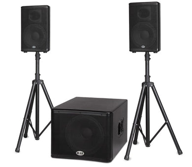 B52 Active Speaker System BBE Processor 1200W 15
