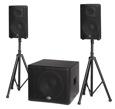 B52 Active Speaker System BBE Processor 1.6kW 18