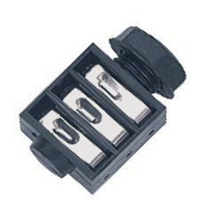 Stereo Jack Connector  6.3mm  Panel Mount  FEMALE