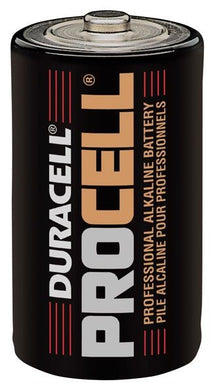 Procell Alkaline Battery 1.5V D Size 72 Pack