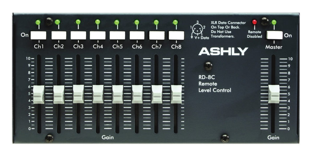 Ashly Wall Mount Remote fader level control