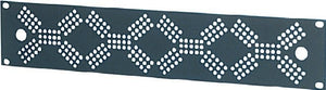 "19"" Rack Protection Panel 2U Diamond Grill"
