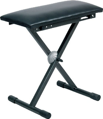 Proel Keyboard Bench Padded Vinyl Seat BLACK