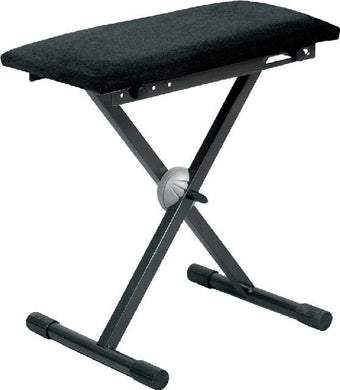 Proel Keyboard Bench Padded Velvet Seat BLACK