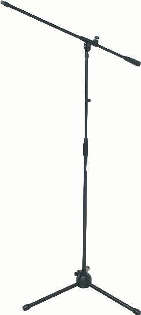 Proel Floor Mic Stand Tall+Boom BLACK