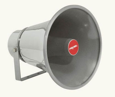 Proel Outdoor Horn Speaker 30W Swivel Bracket