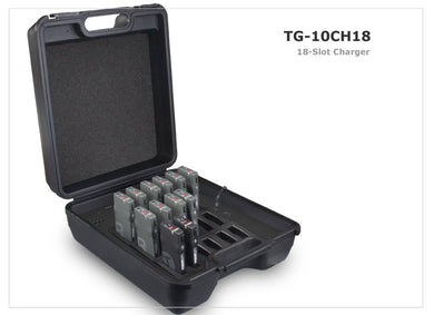 JTS Wireless Tour Guide System Charging Unit 18 Slot