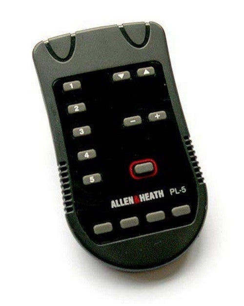 Allen and Heath Digital System Remote Wall Plate Hand Remote