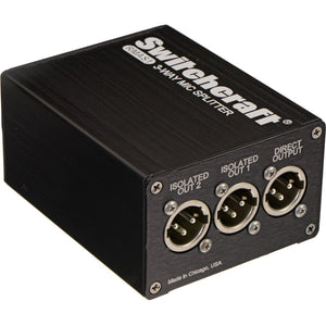 Switchcraft 1 > 3 XLR Splitter