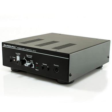 Buttkicker Power Amplifier Frequency Response 10 - 300 Hz