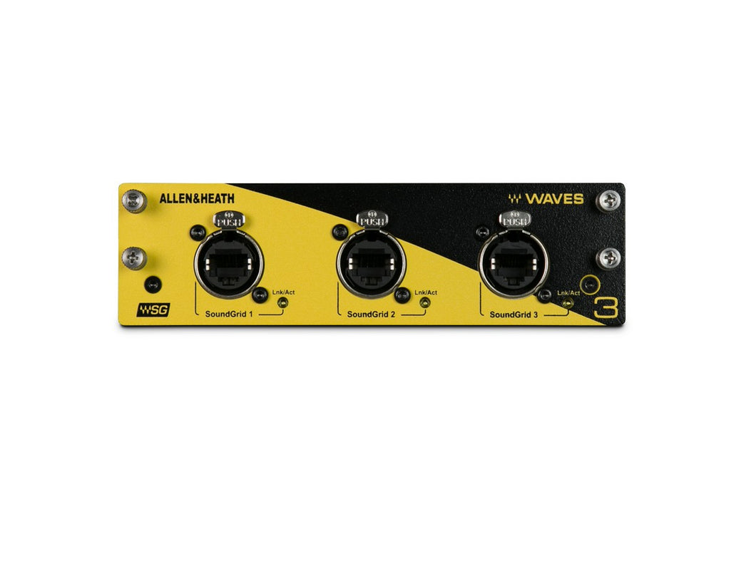 Allen and Heath Waves V3 Audio Networking Card
