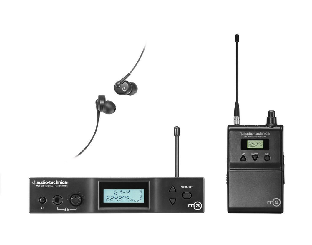 M3  In Ear Monitor System  622-647 MHz  1321 Channels