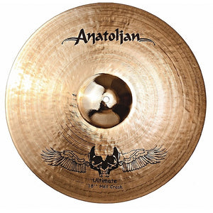 "Anatolian  Cymbal  HELL Crash  17""  ULTIMATE"