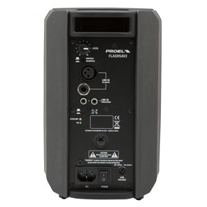 "FLASH  Active Moulded PA Speaker  2 Way  5""+1""  80W+20W"