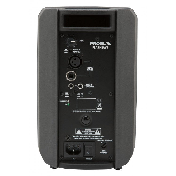 FLASH  Active Moulded PA Speaker  2 Way  5