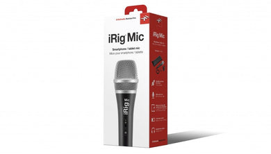 IK Multimedia iRig Mic IP-IRIG-MIC-IN