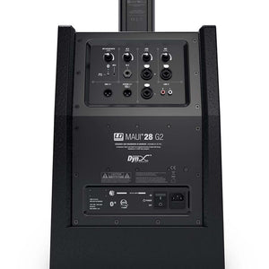 LD SYSTEMS MAUI 28 G2 Compact column PA system active with built-in mixer and Bluetooth black