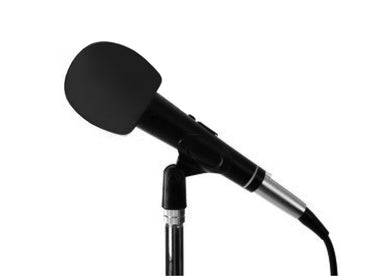 Microphone Wind Sock - Black