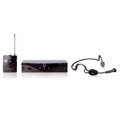 AKG WMS45-HEADSET Perception Wireless System W/C544L
