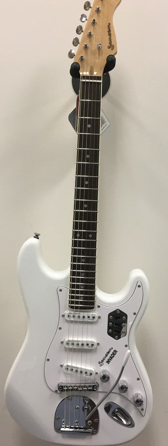 JANSEN Invader Electric Guitar Arctic White