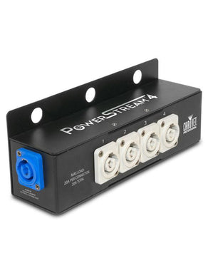 Chauvet Professional PowerStream 4 powerCON Connections Splitter