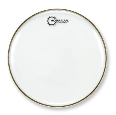 Aquarian Classic Clear Snare Side 13 inch Drum Head