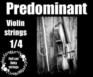 Predominant DXKY 1/4 Violin Strings