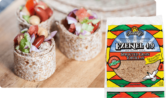 Food For Life Organic Ezekiel Sprouted Grain Tortillas