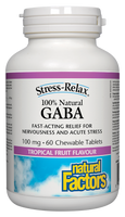 Natural Factors Stress-relax Gaba