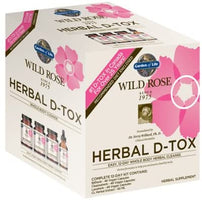 Garden of Life Wild Rose Herbal Detox Kit