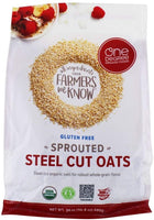One Degree Organic Foods Sprouted Steel Cut Oats
