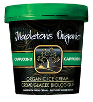 Mapleton's Organic Cappuccino Ice Cream