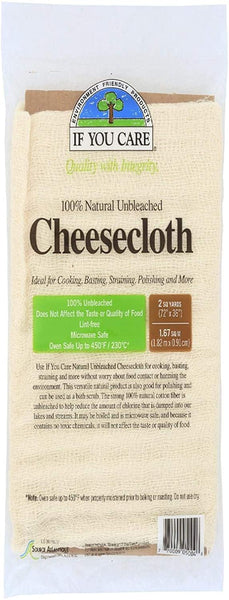 If You Care Unbleached Cheesecloth