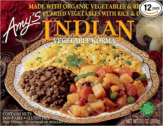 Amy's Frozen Indian Vegetable Korma