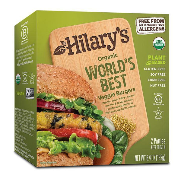 Hilary's Organic Veggie Burger Original