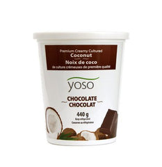 Yoso Chocolate Premium Creamy Cultured Coconut Yogurt