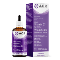 AOR 1000 iu Vitamin D3 Liquid 50 ml