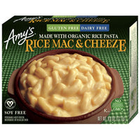 Amy's Frozen Rice Mac And Cheese Non Dairy